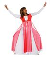 Girls Worship Streamer Vest - Style No 0551
