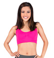 Adult Racer Back Tank Bra Top - Style No 1109