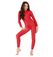 Child Mock Neck Long Sleeve Unitard - Style No 1855