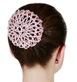 Beaded Bun Cover - Style No 2137