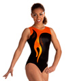 Adult Citrus and Black Leotard - Style No 3634