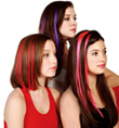 Color Hair Clips - Style No 4123