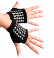 Metal Studded Glove - Style No 4661D