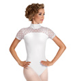 Adult Lace Short Sleeve Leotard - Style No 88202