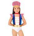 """Parade Costume"" Girls Tank Leotard - Style No AS1007C"