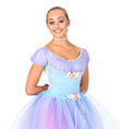 """Celestial Costume"" Girls Short Sleeve Leotard - Style No AS1010C"