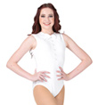 """Top Hat and Tails"" Costume Girls Tank Leotard - Style No AS1130C"
