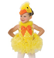"""Quack, Quack Duck"" Girls Costume Set - Style No AS1144C"