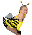 """Sting like a Bee"" Girls Costume Set - Style No AS1147C"