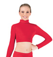 Girls Long Sleeve Crop Top - Style No AUG9011
