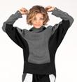 """The Flying Monk"" Child Hoodie Sweatshirt - Style No BSBF02C"