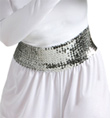Worship Wide Sequin Cummerbund - Style No BT4