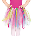 Child Tattered Tutu Skirt - Style No C28169