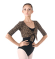 Adult Cheetah Print Sweater - Style No C301