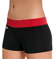 "Child ""Red Hot"" Comfort Fit Waistband Cheer Short - Style No CB530C"