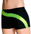 "Adult ""Lemon Lime Swirl"" Cheer Short - Style No CB534"