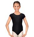 Child Short Sleeve Leotard - Style No D5102C