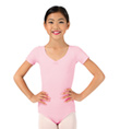 Child Short Sleeve Leotard - Style No D6758