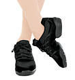 """Adult """"RockIt"""" Dance Sneaker - Style No DS24"""
