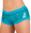 Child Turquoise Sequin Short - Style No FD0180C