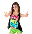 Girls Tank Lace Back Top - Style No FD0215C