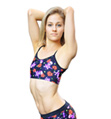 Child Pirate Heart Bra Top - Style No FD110C