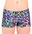 Child Rainbow Cheetah Metallic Short - Style No G570C
