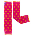 "Go Girl Polka 13"" Child Legwarmer - Style No HUG7"