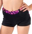 Girls Leopard Trim Shorts - Style No K5137