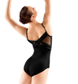 Adult Mesh Back Panel Camisole Leotard - Style No L2865