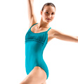 Adult Spliced Front Camisole Leotard - Style No L3017