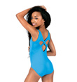 Girls Heart Back Tank Leotard - Style No M2786C