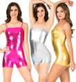 Metallic Camisole Shorty Unitard - Style No N7031