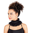 Adult Mesh Ruffle Collar - Style No N7114