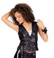 Adult Sequin Motorcycle Vest - Style No N7120