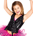 Child Sequin Motorcycle Vest - Style No N7120C