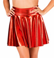 Pleather Skater Skirt - Style No N7199