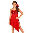 Child Asymmetrical Camisole Dress - Style No N8430C