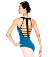 Adult Two-Tone Tank Leotard - Style No N8679