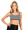 Adult Stripe Camisole Bra Top - Style No N8758