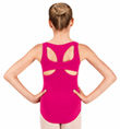Girls Tank Leotard with Cut Out Back - Style No N8810C