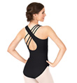 Adult Asymmetrical Tank Leotard - Style No N9502