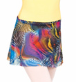 Child Printed Wrap Skirt - Style No NF8466C