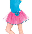 Child Rose Tutu Skirt - Style No PC025