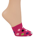 2-Pack Adult Toe Cap Socks - Style No S4511