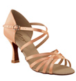 "Ladies ""Rosa"" 2.5"" Latin/Rhythm Ballroom Shoe - Style No SD02S"