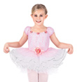 Child Rose Lace Dance Dress - Style No SK582