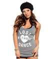 Adult Lost Without Dance Tee - Style No SS6023
