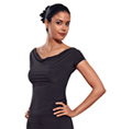 Cap Sleeved Top - Style No T63