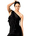 Quad Ruffled Spaghetti Strap Top - Style No T67